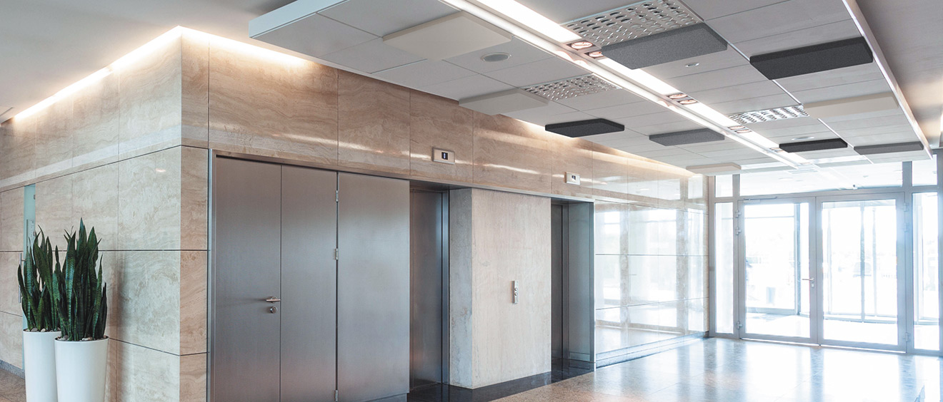 AirPanel 1 face / panneaux acoustiques / dalle faux plafond